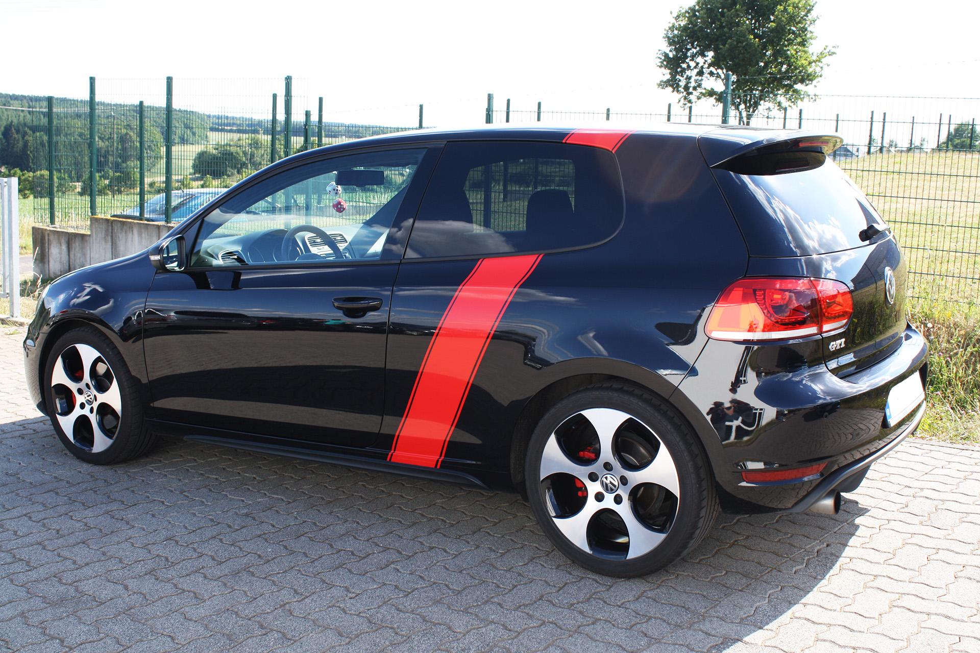 VW Golf 6 GTI Folierung